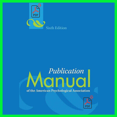 Publication Manual of the American (E_book) {PDF} ⚡Fast Delivery(10s)⚡