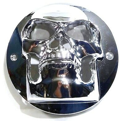 "light cover skull for 4"" round flat Peterbilt Freightliner Kenworth lite plastic"