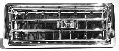 A/C heater vent center dash slide adjuster chrome plastic for Kenworth 2002-05