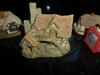 The Bothy by David Winter + 3 x Lilliput Lane Cottages