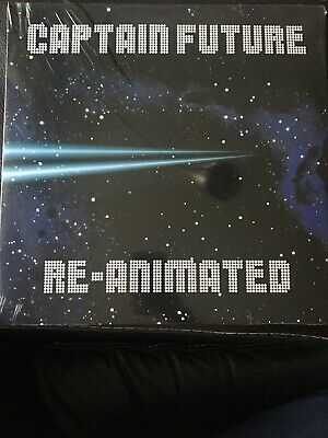 Captain Future Re-Animated Vinyl LP Limited Edition of 1000 Neu OVP