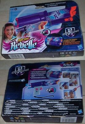 Nerf rebelle mini mischief pocket