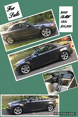 2008 BMW 135i Sports Package BMW 135i Convertible