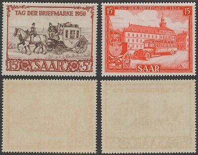 Germany Saar 1950 1954 Day of Stamp - MNH Stamps