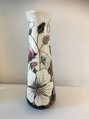 "MOORCROFT 'BRAMBLE REVISITED' 7.25"" Jug 1st QUALITY BY ALICIA AMISON. RRP £250"