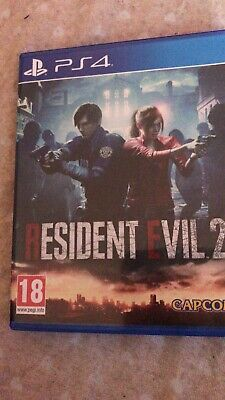 RESIDENT EVIL 2 REMAKE PS4 come nuovo!!