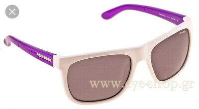 bd04bebc92 Mens Arnette Fire Drill White Violet Purple Rectangular Sunglasses Holiday  Ski