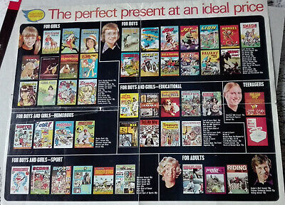 Ipc Annuals Newsagents Flyer For 1973