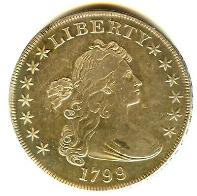 1799 Draped Bust Dollar XF In Grade Check Variety Scarce Early US Type Coin