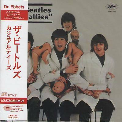 BEATLES - CASUALTIES (CD MINI LP with OBI) Harrison Lennon McCartney Starr