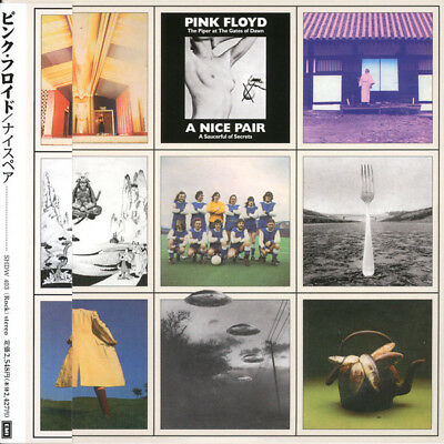 Pink Floyd – A Nice Pair 2CD (CD MINI LP with OBI) BOOKLETS