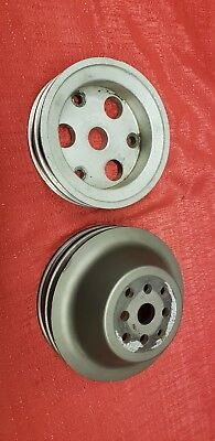 Colman Billet Aluminum Upper And Aluminum  Lower Reduction Pulleys.