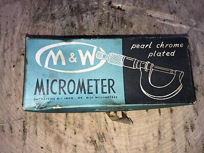 Moore & wright 933 ,0-25 Micrometer