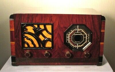 Antique Stromberg-Carlson vintage tube radio restored and working