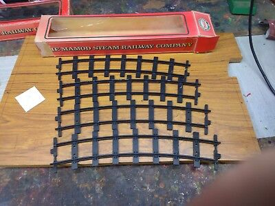 Mamod Model Steam Railway Set of 4 Curved track in Box