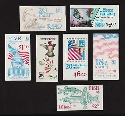 U.S. Discount Postage - 7  booklets - FACE value $ 26.90