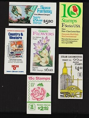 U.S. Discount Postage - 6 booklets - FACE value $ 27.70
