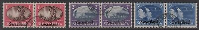 KING GEORGE VIth VICTORY STAMPS. SWAZILAND . FINE USED.