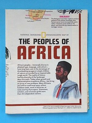 The Peoples of Africa - National Geographic Society 1971