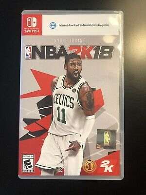 NBA 2K18  (Nintendo Switch, 2017) - Excellent Condition!