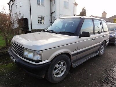 Range Rover P38 2.5Dt 1998 Owned Local Rugby Record Holder. Spares Or Repair