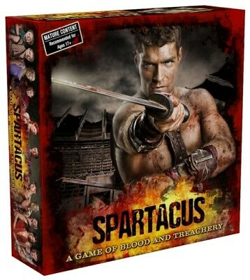 SPARTACUS: A Game of Blood & Treachery - Board Game (Gale Force Nine) #NEW