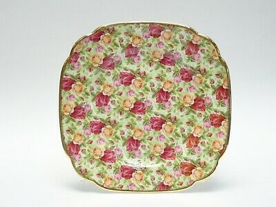 Royal Albert Old Country Roses Chintz Collection Cake Salad Plate 7.75""