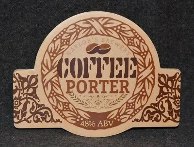 Naylor's Coffee Porter pump clip front