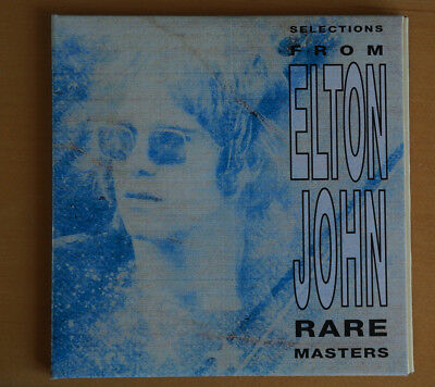 Elton John Rare Masters/ Elton John Collection 2-CD Promotional copy. Very rare