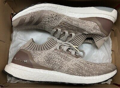 8822921f56a8b Adidas Ultra Boost Uncaged Khaki Brown White Black UltraBoost BB4488 Sz 10