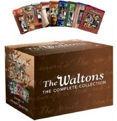 New & Sealed TV The Waltons Complete Series Seasons 1 - 9 + Movie Collection