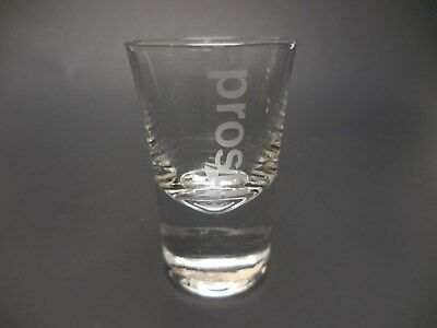 """Waterford Shot Glass Prost! Marquis Vintage 2 3/4"""" Mint"""