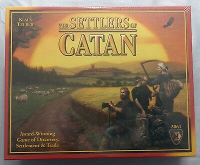 The Settlers Of Catan #3061 Board Game Mayfair Games 2012 Sealed