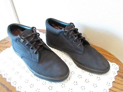 1840b11ce3a Womens Easy Spirit Outdoor Ankle Lace Up Boots Shoes Black Suede Leather  Size 9B