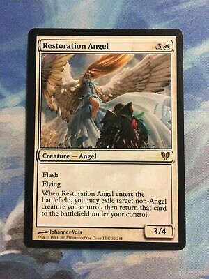 Magic the Gathering MTG 1x Restoration Angel Avacyn Restored NM/LP Rare Verzamelingen