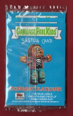 Loaded Puzzle Sketch 2019 Topps GARBAGE PAIL KIDS We Hate the '90s HOT PACK 1/1