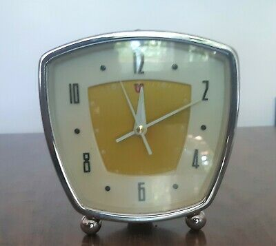 Vintage 1960's Winding Alarm Clock (works).  Made in China