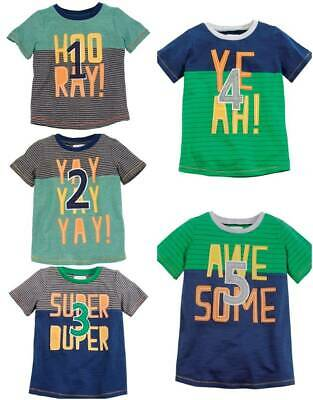 Mud Pie Birthday Boy Age Tee 1 2 3 4 5