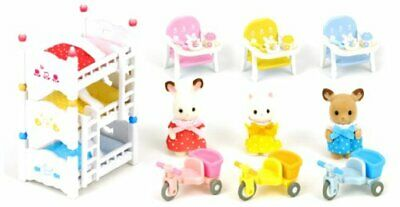 Sylvanian Families Room Set baby in matching furniture set cell -171