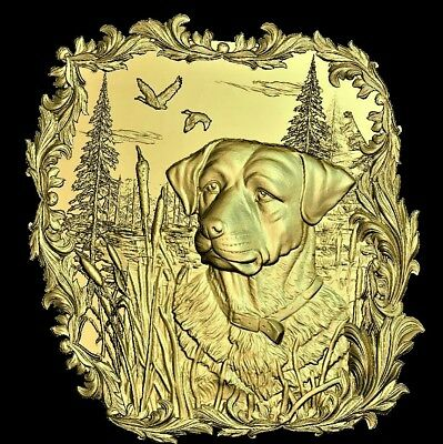 Hunting dog STL file Hunt relief 3D Model STL relief for CNC Artcam relief