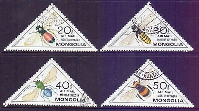 Mongolia  1980  Insects, CTO.