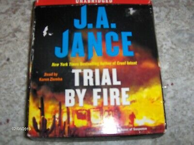 audio Books On CD,Trial By Fire by J.A.Jance