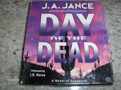 audio Books On CD,Day of the Dead by J.A.Jance