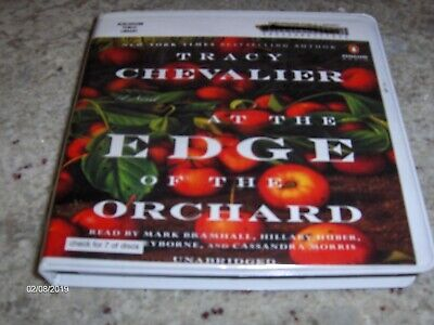 audio Books On CD  Edge of the Orchard by Tracy Chevalier