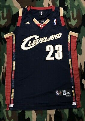 newest collection d6210 4a6b7 100% AUTHENTIC LEBRON James Adidas Cavaliers Swingman Jersey Size M 44 Mens  VTG