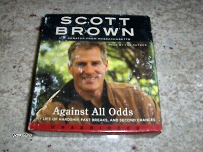 audio books on cd, unabridged, Against All Odds by Scott Brown