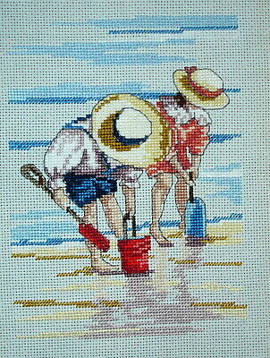 Completed Counted Cross Stitch Unframed Tapestry Picture All Our Yesterdays