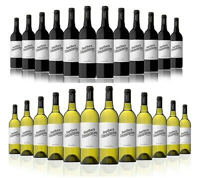 Southern Constellations Shiraz or Chardonnay White Wine (12 x750ml) RRP $189!