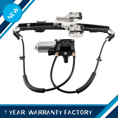 Power Window Regulator W/Motor Rear Left LH Side for GMC Chevy Tahoe Cadillac