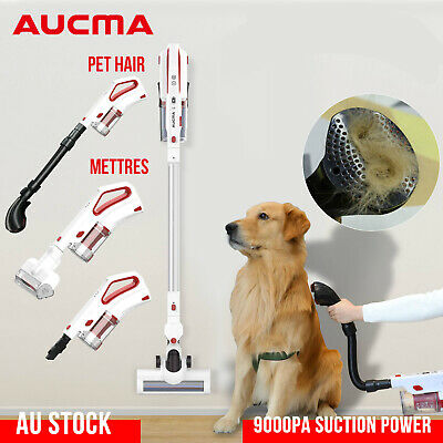 AUCMA Cordless Stick Vacuum Cleaner 33000RPM LED Versatile Handheld Cleaner